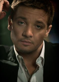 Jeremy Renner- Still can't over his eyes! I know, so many pins, I rave about his eyes. They're just so beautiful!