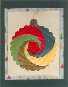book iris folding for christmas - - Yahoo Image Search Results Iris Folding Templates, Iris Paper Folding, Iris Folding Pattern, Card Templates, Cat Quilt Patterns, Card Patterns, Paper Cards, Folded Cards, Get Well Cards