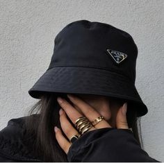 Prada bucket hat inspo | Sherrie Webster