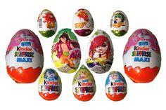 ♡ 10 Surprise Eggs ♡ Kinder Surprise Maxi ♡ Hello Kitty ♡