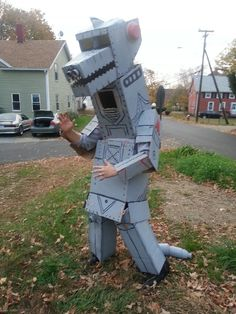 Mecha Godzilla Costume by Bagocat