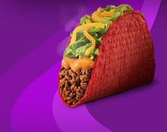 Volcano Taco from Taco Bell. $0.89. Love this sauce!