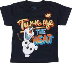 Disney Frozen Olaf Turn Up the Heat Toddler T-Shirt