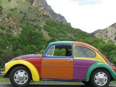 1970 VW Beetle  ** Pour me souvenir que c'est fun, mais pas très beau... **