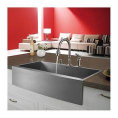 """36"""" Farmhouse Kitchen Sink"""