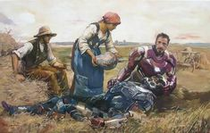 Civil War Canvas Collage, Oil Painting On Canvas, Old Paintings, Original Paintings, Iron Man, Pop Art, Graffiti, Street Art, Art Original