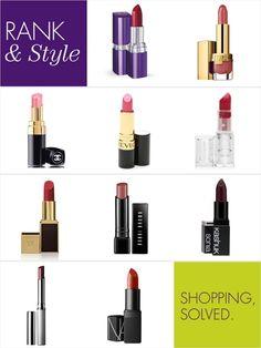 Top 10 Moisturizing Lipsticks via @Rankin Sim & Style  #rankandstyle #topten