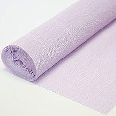 Italian Crepe Paper roll 180 gram - 592 Light Lilla Carto...