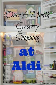 Have you ever tried once a month grocery shopping at Aldi? This family of 5 tried it out, and they're sharing the good, bad, and interesting parts.