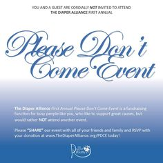 Here is a fundraiser event for the Midland Area Diaper Alliance - Novel Idea! http://www.thediaperalliance.org/pdce.html