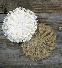 canvas corp burlap flowers - Google Search