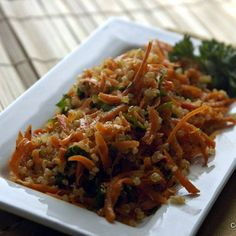 Asian slaw, Quinoa and Naturally ella on Pinterest
