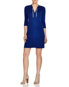 THREE DOTS Up Dress. #threedots #cloth #dress