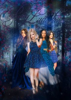 Gorgeous promo poster for Pretty Little Liars! So many awsome pictures on here!   https://www.pinterest.com/pin/229472543490352729/