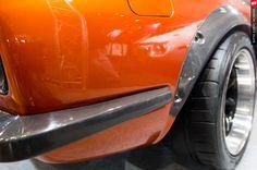 Rocky auto s30 fairlady z carbon fiber rear bumper