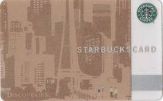 Discoveries Starbucks Card - 2010 Japan