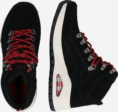 SKECHERS Ghete cu șireturi 'UNO RUGGED' în Negru | ABOUT YOU Skechers, Shoes, Fashion, Moda, Zapatos, Shoes Outlet, Fashion Styles, Shoe, Footwear