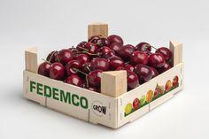 Envase marca Pitufo® 20x20 para 1 kilo de cerezas Cherry, Apple, Fruit, Food, Cherries, Vegetables Garden, Seafood, Apple Fruit, Essen