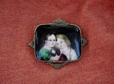 Fabulous Early Victorian or Georgian Hand Painted by ExpressionsPA