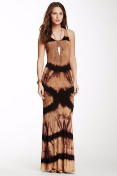 Go Couture Tie-Dye Maxi Dress by Assorted on Casual Chique, Style Casual, Tie Dress, Dress Up, Boho Fashion, Fashion Outfits, Fashion Design, Fashion Beauty, Look Hippie Chic