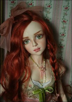 VM_P1 by Dale Zentner, via Flickr Beautiful Horses, Beautiful Dolls, Big Eyes Artist, Large Paper Flowers, Realistic Dolls, Dress Up Dolls, China Dolls, Pink Grapefruit, Doll Repaint