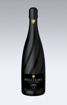 Millesime #champagne #packaging by Jerome Olivet