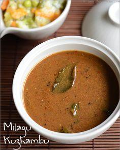 Easy pepper kuzhambu recipe / Milagu kuzhambu recipe | Rak's Kitchen