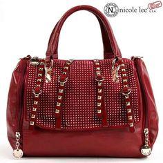 Stylish Female Red Designer Handbags | My addiction | Pinterest ...