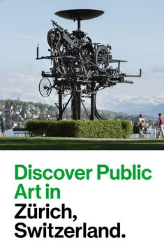 Discover over 1,300 works of art in public spaces on a stroll through Zurich.