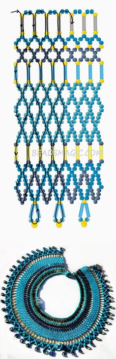 Free pattern for necklace Egypt   Beads Magic
