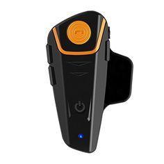 Abdtech Motorcycle Bluetooth Helment Headset/intercom with Fm Tuner,1000m Range Interphone(Dual) ¡
