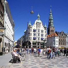 Älskade Ströget i Köpenhamn