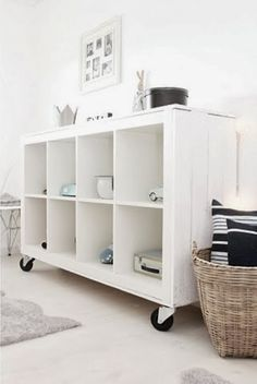 Kallax has replaced Expedit and still will work for record storage. I like the addition of casters.