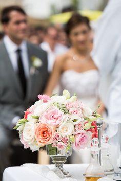 style me pretty - real wedding - mexico - los cabos wedding - cabo del sol - ceremony decor
