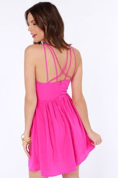 Got the Hots Fuchsia Dress at LuLus.com! Josie's Wedding