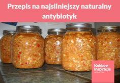 Przepis na najsilniejszy naturalny antybiotyk - tylko naturalne składniki