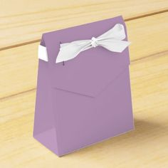 #personalize - #Lilac Tent Favor Box