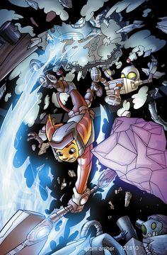 Ratchet and Clank issue 5 by a-archer on deviantART