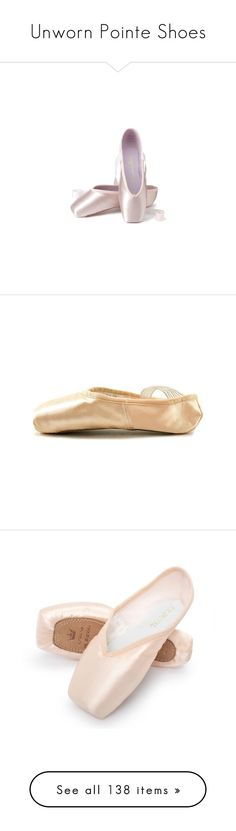 """""""Unworn Pointe Shoes"""" by gymholic ❤ liked on Polyvore featuring shoes, flats, ballet, dance, ballerina flat shoes, flat pumps, flat ballet pumps, flat pump shoes, ballerina shoes and pointed shoes"""