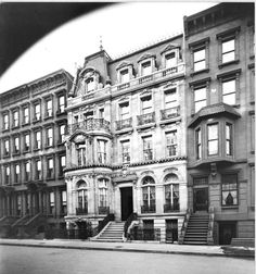 Daytonian in Manhattan: 38 68th Street.. William Barnard residence