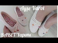 Crochet Sandals, Crochet Art, Crochet Slippers, Crochet Bag Tutorials, Crochet Videos, Crochet Slipper Pattern, Baby Girl Crochet, Shoe Pattern, Spring Shoes