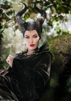 A vision: Disney beginners may not recall that Maleficent is the evil fairy in the classic 1959 animation Sleeping Beauty, and that Angelina played her in a 2014 live-action film Watch Maleficent, Maleficent Quotes, Maleficent 2014, Maleficent Costume, Maleficent Makeup, Young Maleficent, Maleficent Tattoo, Angelina Jolie Maleficent, Disney Villains