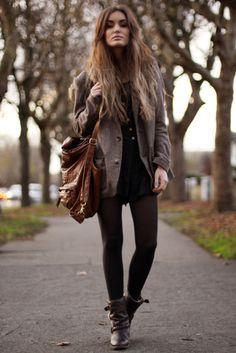 hair, bag, boots, perfect