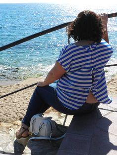 VÍSTETE QUE VIENEN CURVAS: Lazos en la espalda · Outfit