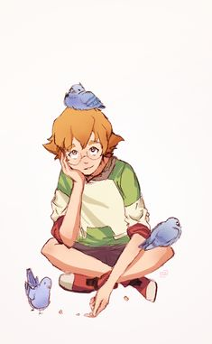 Some Pidge(on)s hanging out by VanillaSkyWolf on DeviantArt