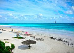 Stunning Scene At Harbour Island, Eleuthera, Bahamas  1997