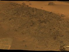 "Martian ""soil"". Taken by Mars Exploration Rover Opportunity's Panoramic Camera."