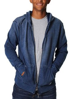 Hoodie in Indigo by Silver
