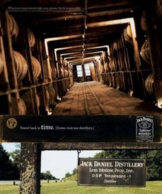 The Print Ad titled TRAVEL BACK was done by Arnold New York advertising agency for product: Jack Daniel's Tennessee Whiskey (brand: Jack Daniel's) in United States. It was released in the Apr 2004.