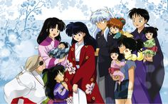 Inuyasha wedding. I don't ship InuKag but the pic was too cute to not pin.